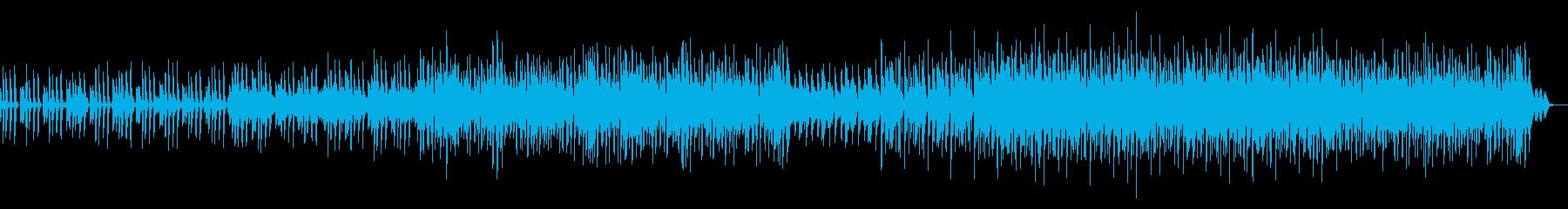 ミステリアス、ドキュメンタリー風テクノの再生済みの波形