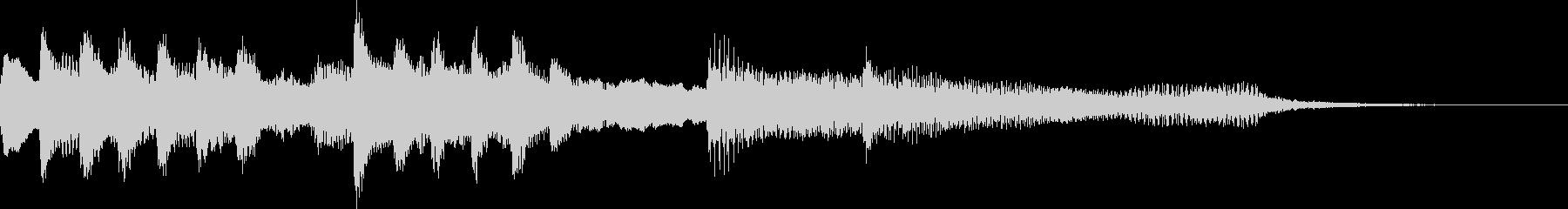 オープニング用サウンドロゴ106の未再生の波形