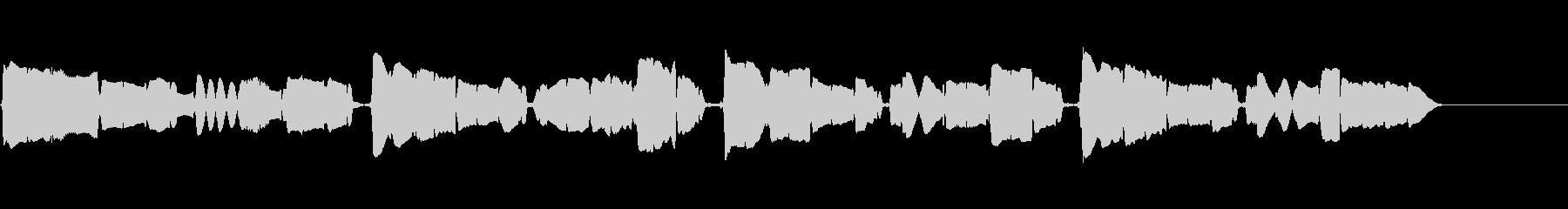 サックスの重奏です。の未再生の波形