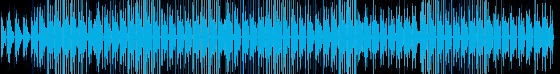 お洒落/夜の街/ジャズ/ヒップホップの再生済みの波形