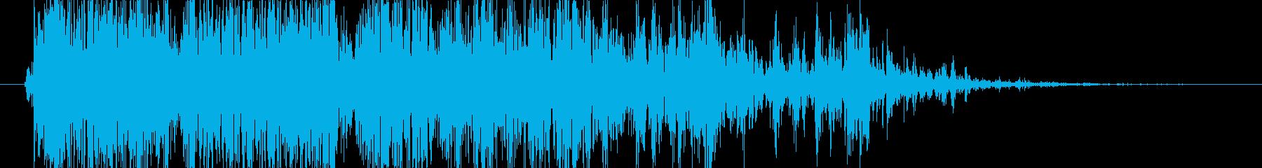 ロック ラージロールドロップ03の再生済みの波形