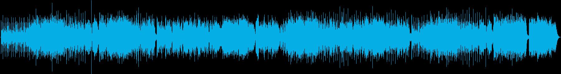 壮大なイメージのフュージョンの再生済みの波形