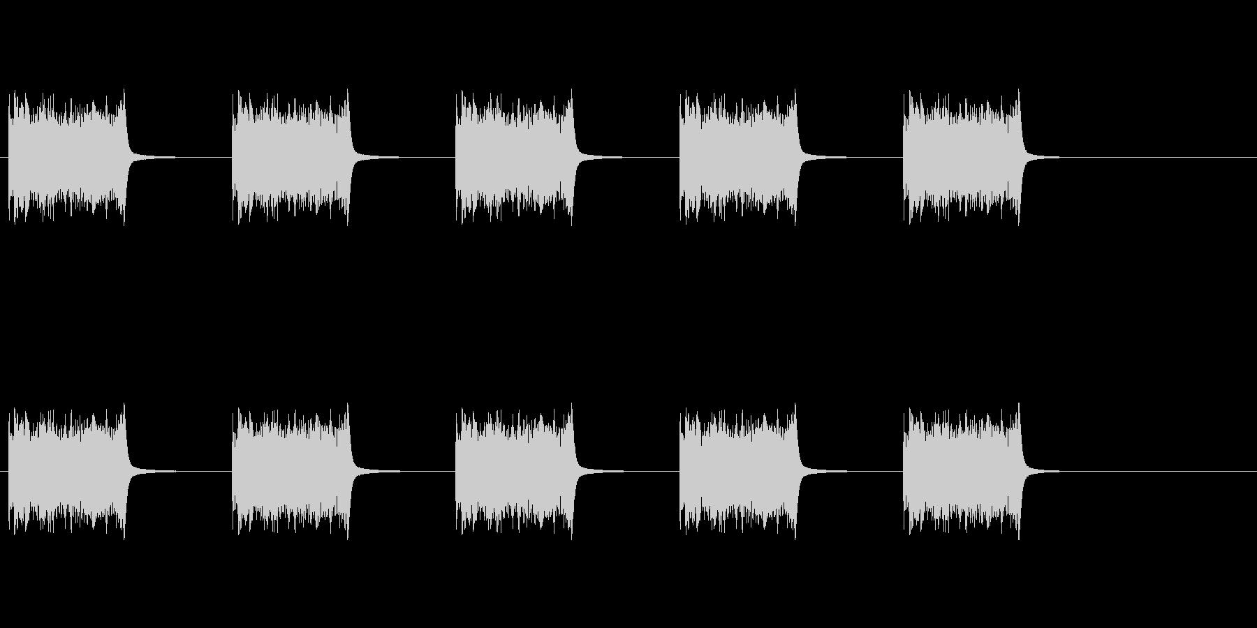 電話のリング、外国のベル型リング1。の未再生の波形