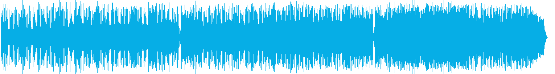 アーバンなライトテックなフュージョンの再生済みの波形