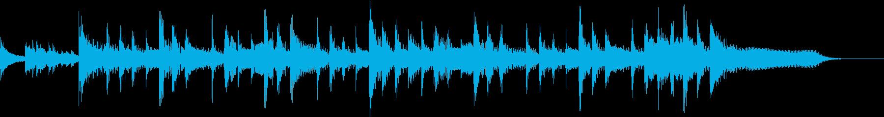 ランチェロリズム、スローテンポ、ピ...の再生済みの波形