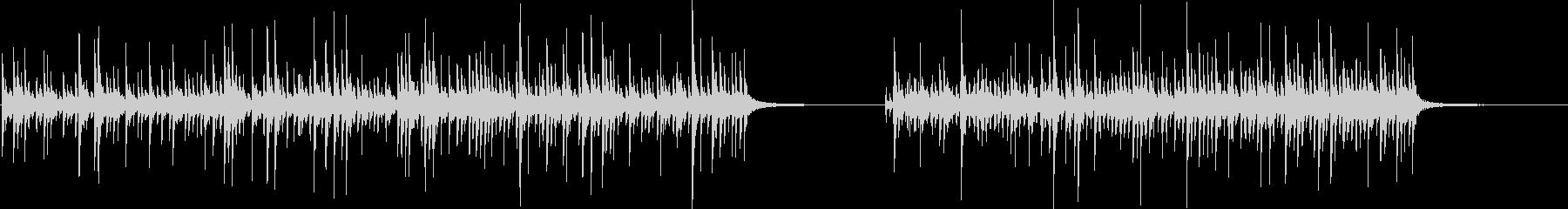ドラムセット、ソロ、シンバルなし、...の未再生の波形