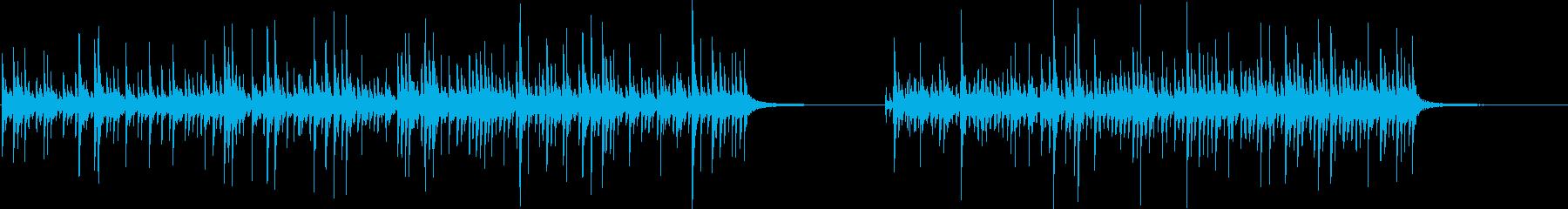 ドラムセット、ソロ、シンバルなし、...の再生済みの波形