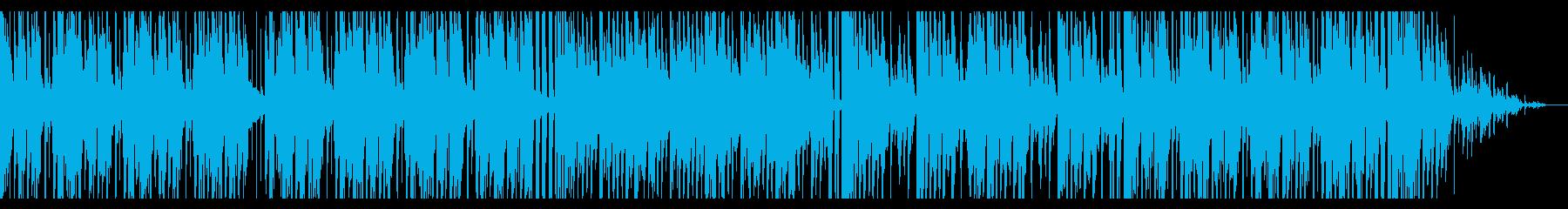 青/海/エレクトロ_No407_3の再生済みの波形