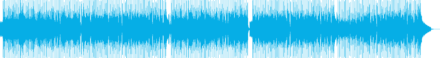 日常的なほのぼの打楽器ポップス 長尺★の再生済みの波形
