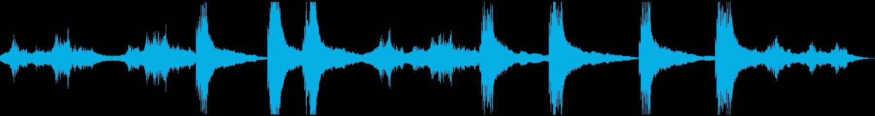 サイエンスフィクション音楽。スタイ...の再生済みの波形