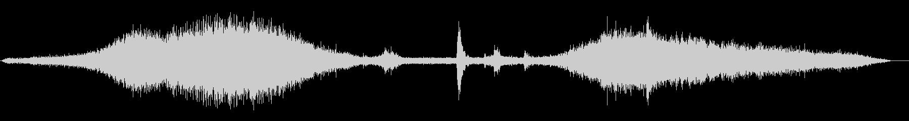 メトロ11到着の未再生の波形