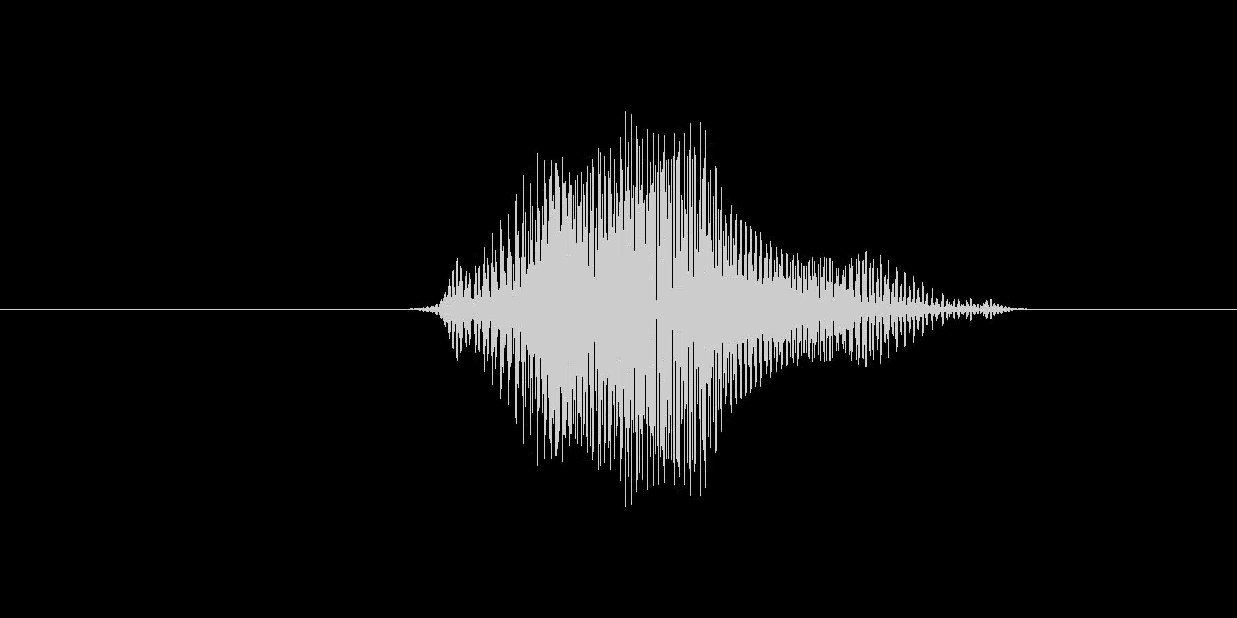 4(数字、女性ver.2)の未再生の波形