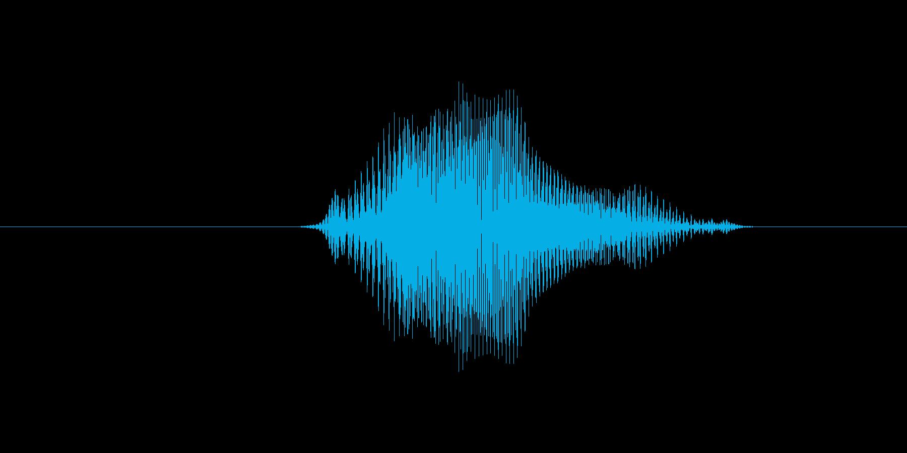 4(数字、女性ver.2)の再生済みの波形