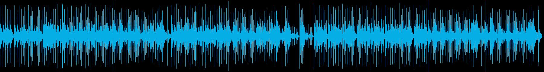 密林に住む部族風BGM(ループ仕様)の再生済みの波形