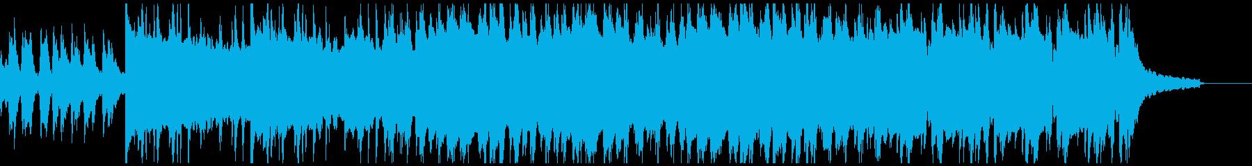 ウクレレ・陽気・ハッピー・夏の再生済みの波形