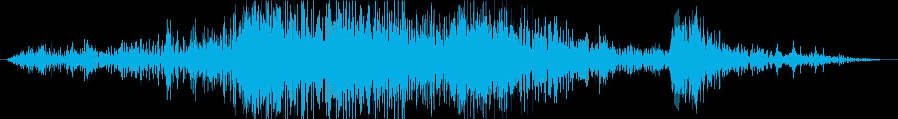 衝撃 噴火10の再生済みの波形