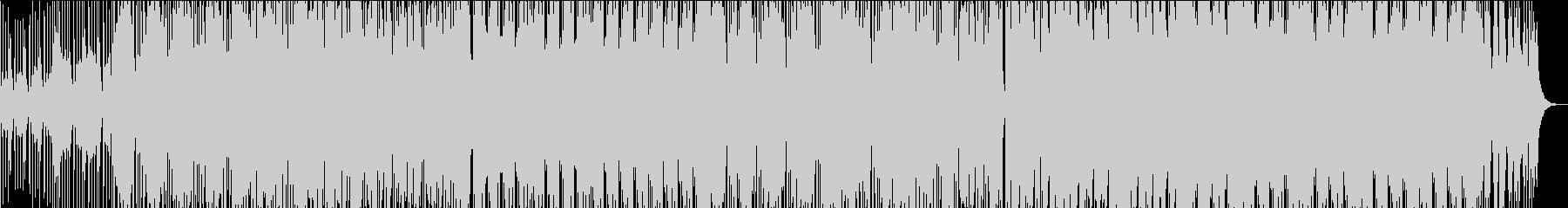 トロピカルさもありつつ洋楽Popsの未再生の波形