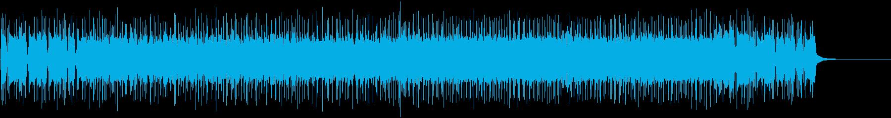 熱いギターロックBGM7_Hの再生済みの波形