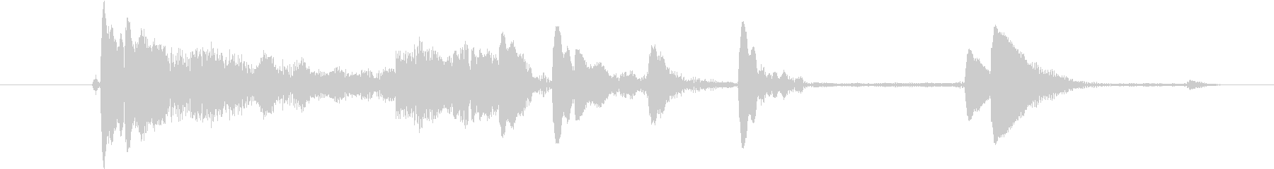 メタルクッキングポット:ハードフロ...の未再生の波形