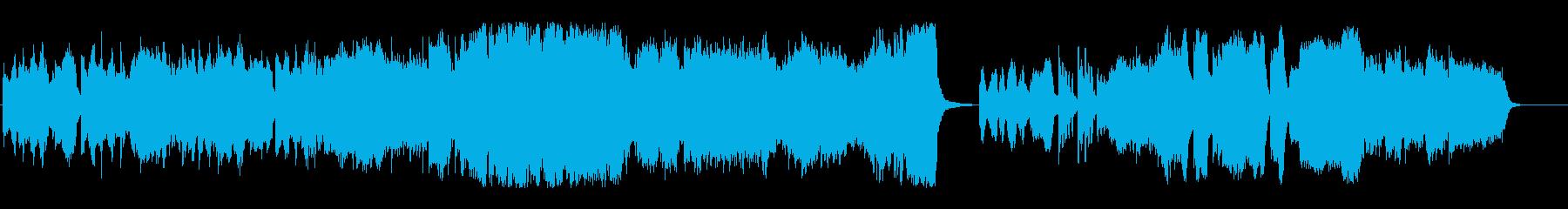 切なく優しいクラシカルなチェロの再生済みの波形