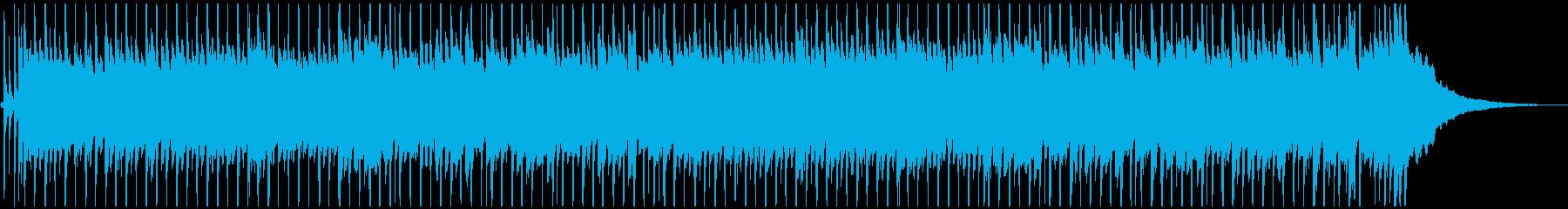 【映像向け】爽やかギターBGM_02の再生済みの波形