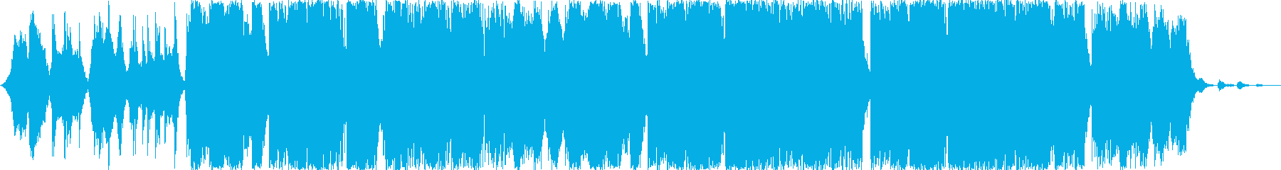 動画 サスペンス 説明的 アンビエ...の再生済みの波形