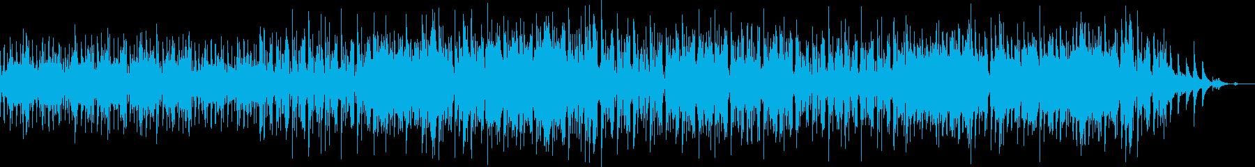 オシャレなbeatが心地いい壮大な曲の再生済みの波形