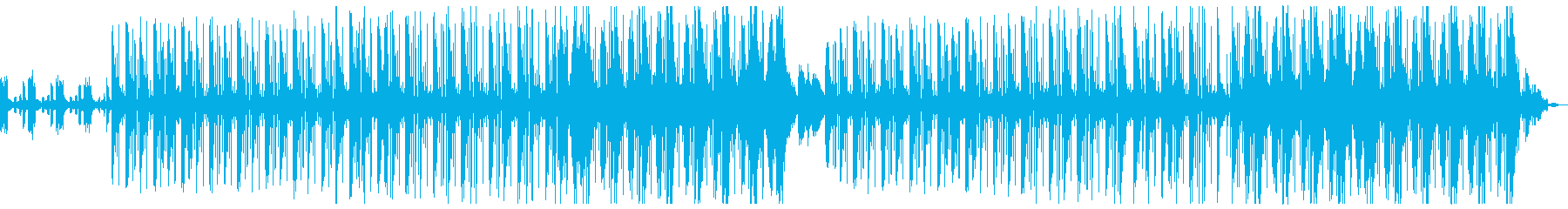 ダーク 洋楽 ヒップホップ トラップの再生済みの波形
