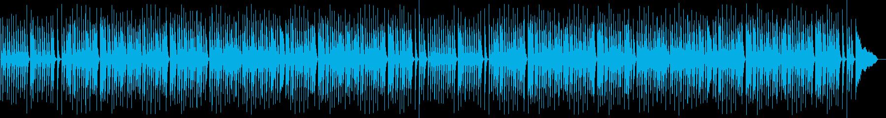 笑顔/優しい/ほっこりなピアノ楽曲の再生済みの波形