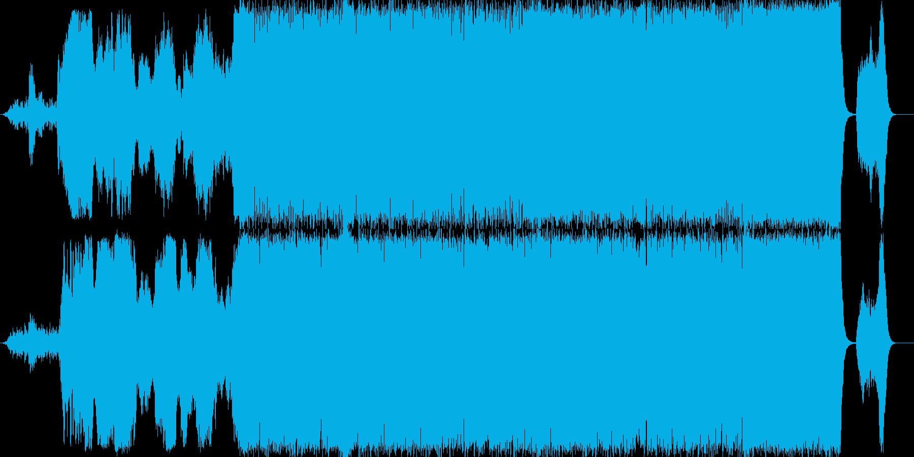 幕末~明治の日本をテーマにした楽曲の再生済みの波形