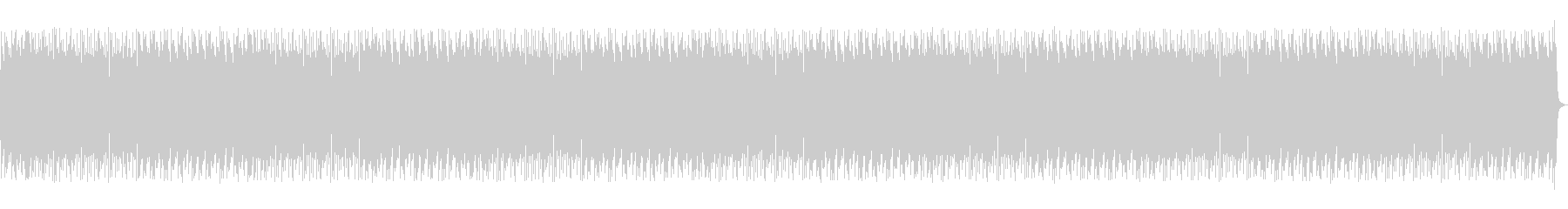 おしゃれなピアノのボサノバ、チルアウトの未再生の波形