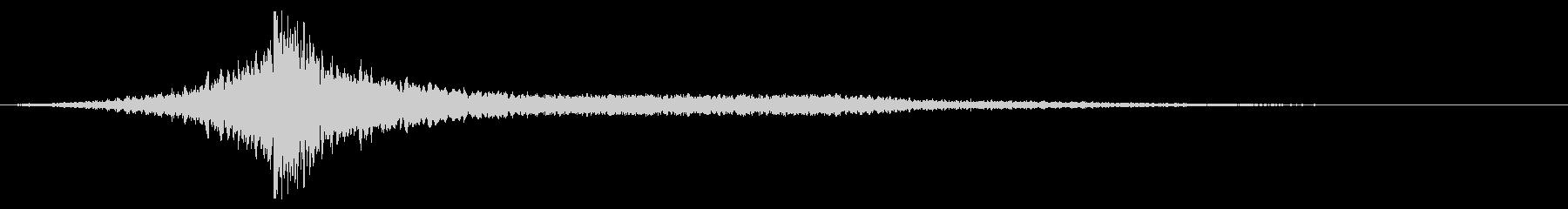 ホラー系アタック音57の未再生の波形