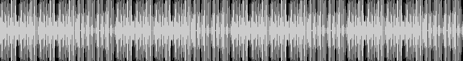 ほのぼの可愛いチップチューン ループの未再生の波形
