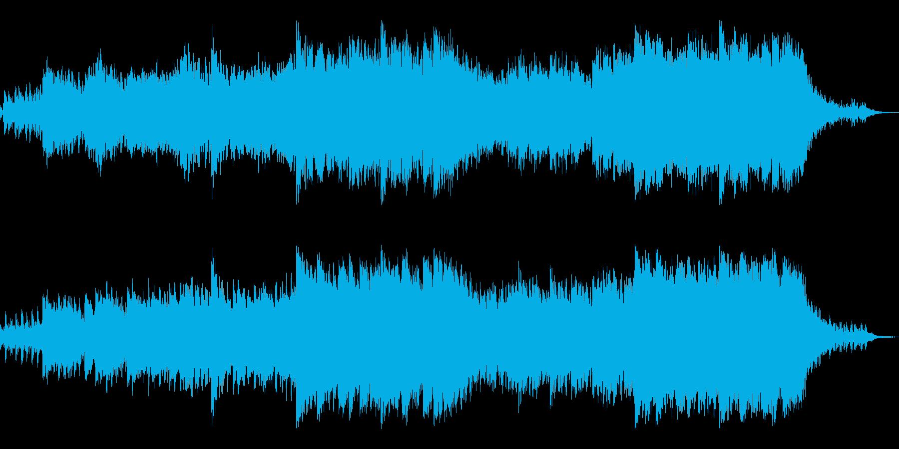 神秘的でアンビエントなシネマティックの再生済みの波形