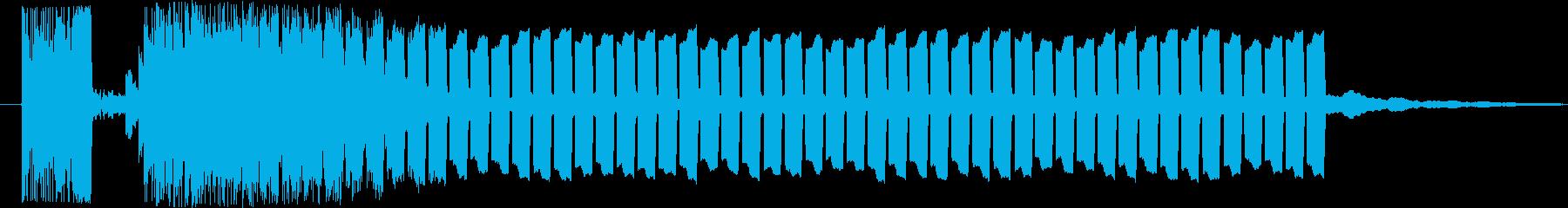 抽選スタート♪の再生済みの波形