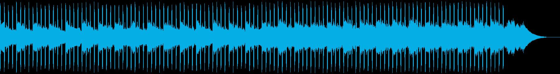説明者(中)の再生済みの波形