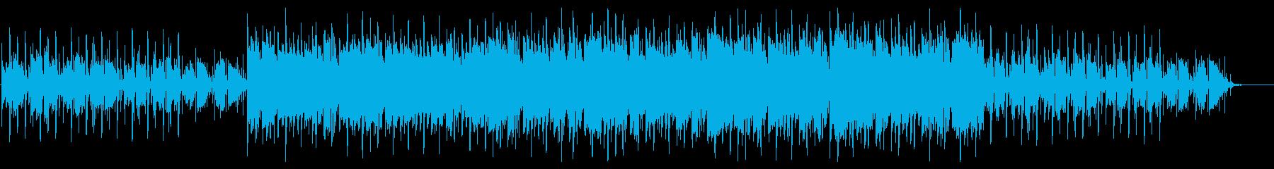 グリッチ、シーケンス_前半省略の再生済みの波形