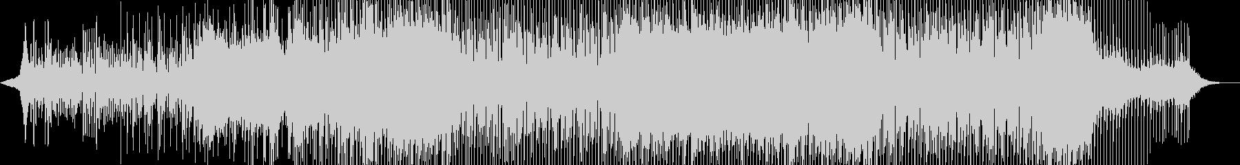 軽快なリズムのギターシンセポップの未再生の波形