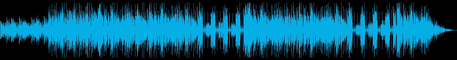 【おしゃれ系】爽やかなファンク風ピアノの再生済みの波形