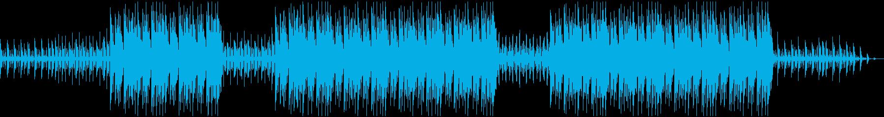 上品で優雅なヒップホップBGMの再生済みの波形
