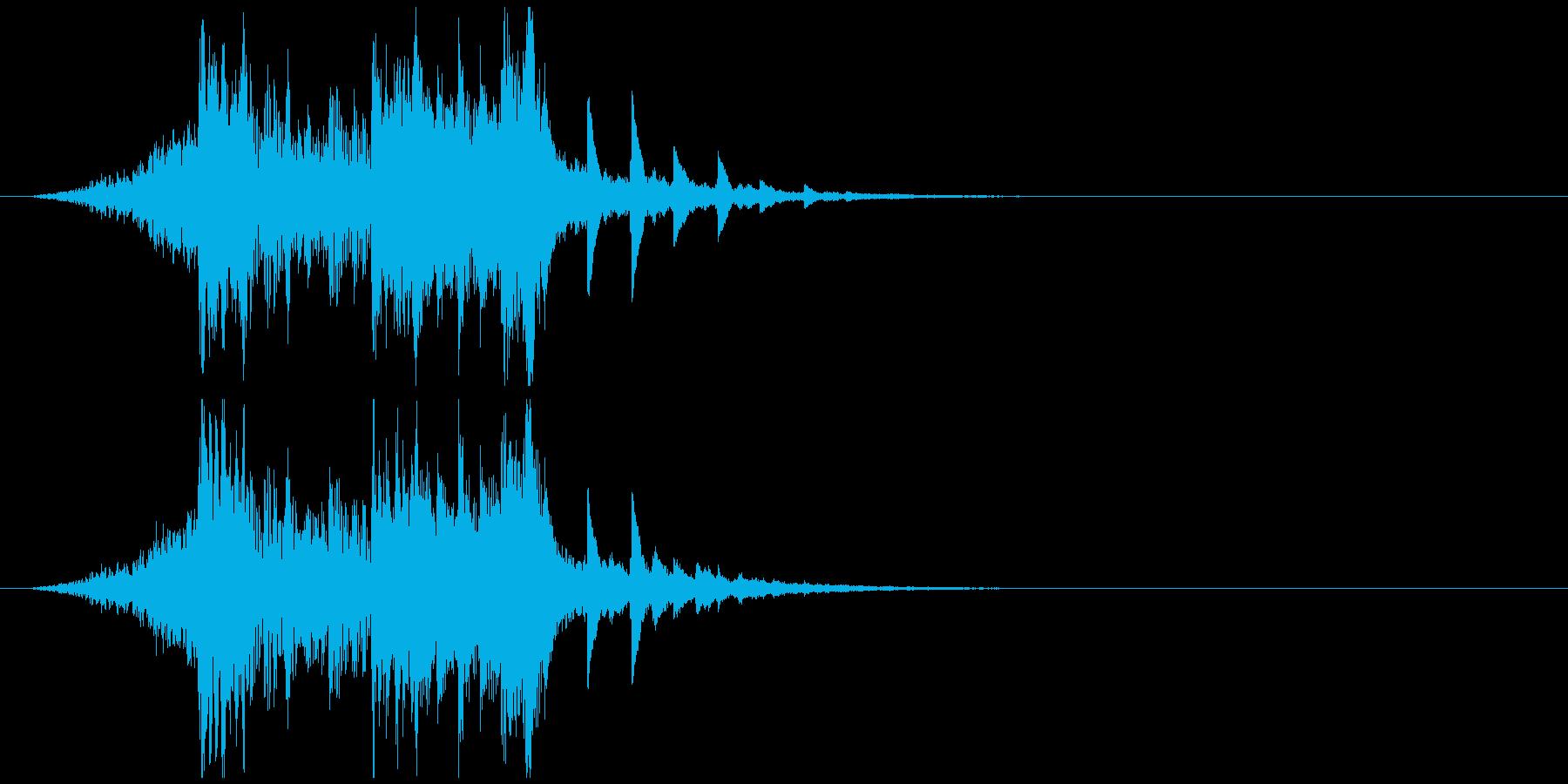 ロゴ系ジングル IT企業風インパクトの再生済みの波形