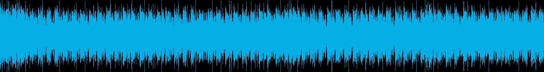 ジャジーなピアノおしゃれポップループcの再生済みの波形