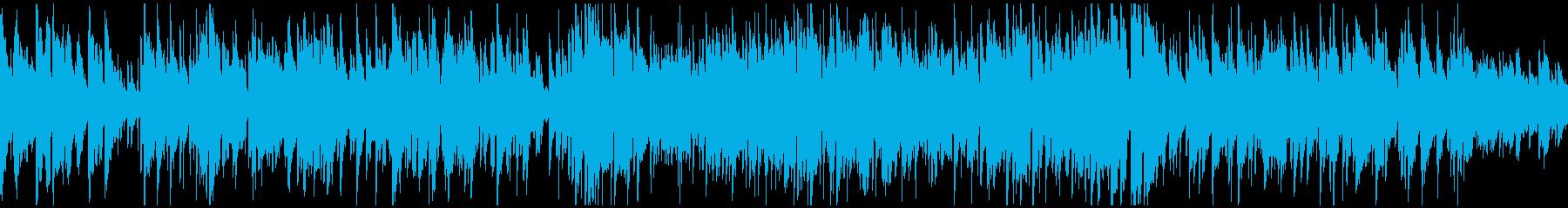 メロディアスおしゃれボサノバ ※ループ版の再生済みの波形