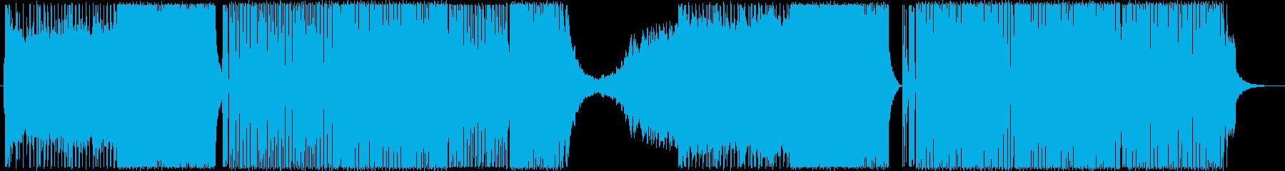 BassHouse/DeepHouseの再生済みの波形