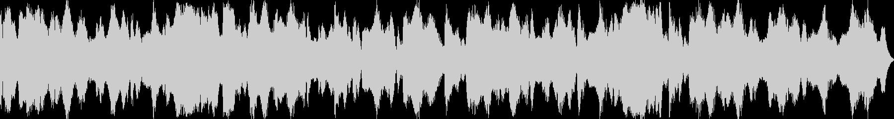 祭り囃子をイメージしたBGM02の未再生の波形