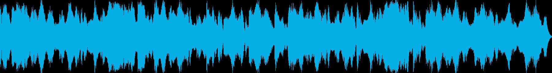 祭り囃子をイメージしたBGM02の再生済みの波形