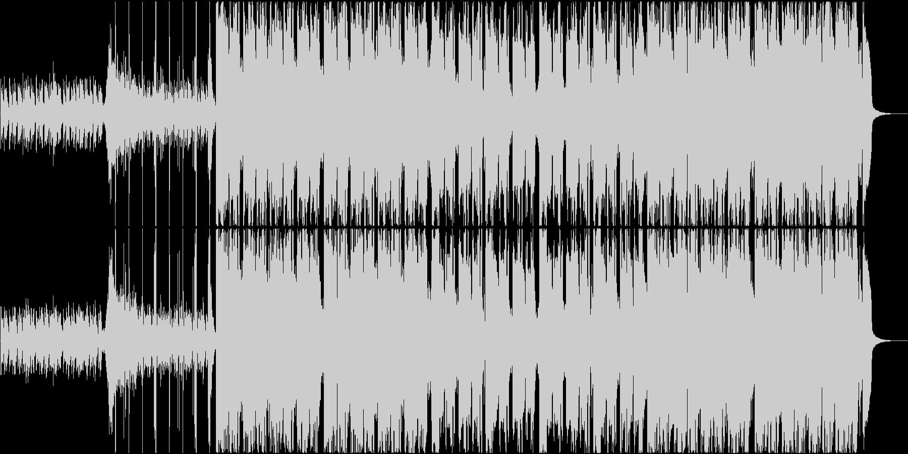 強力なヒップホップ、トラップの未再生の波形