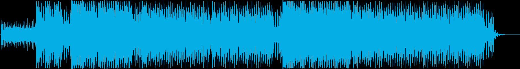 Tropical House 1の再生済みの波形
