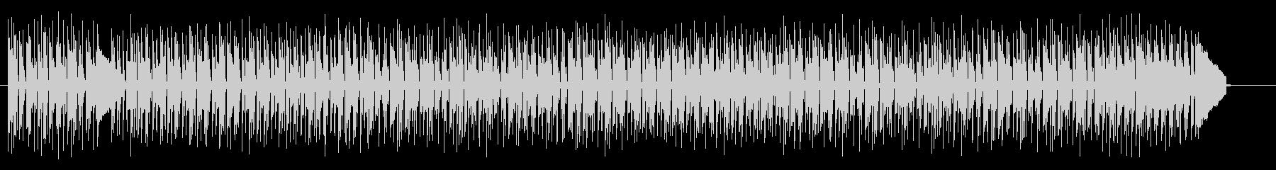 陽気なポップインストの未再生の波形