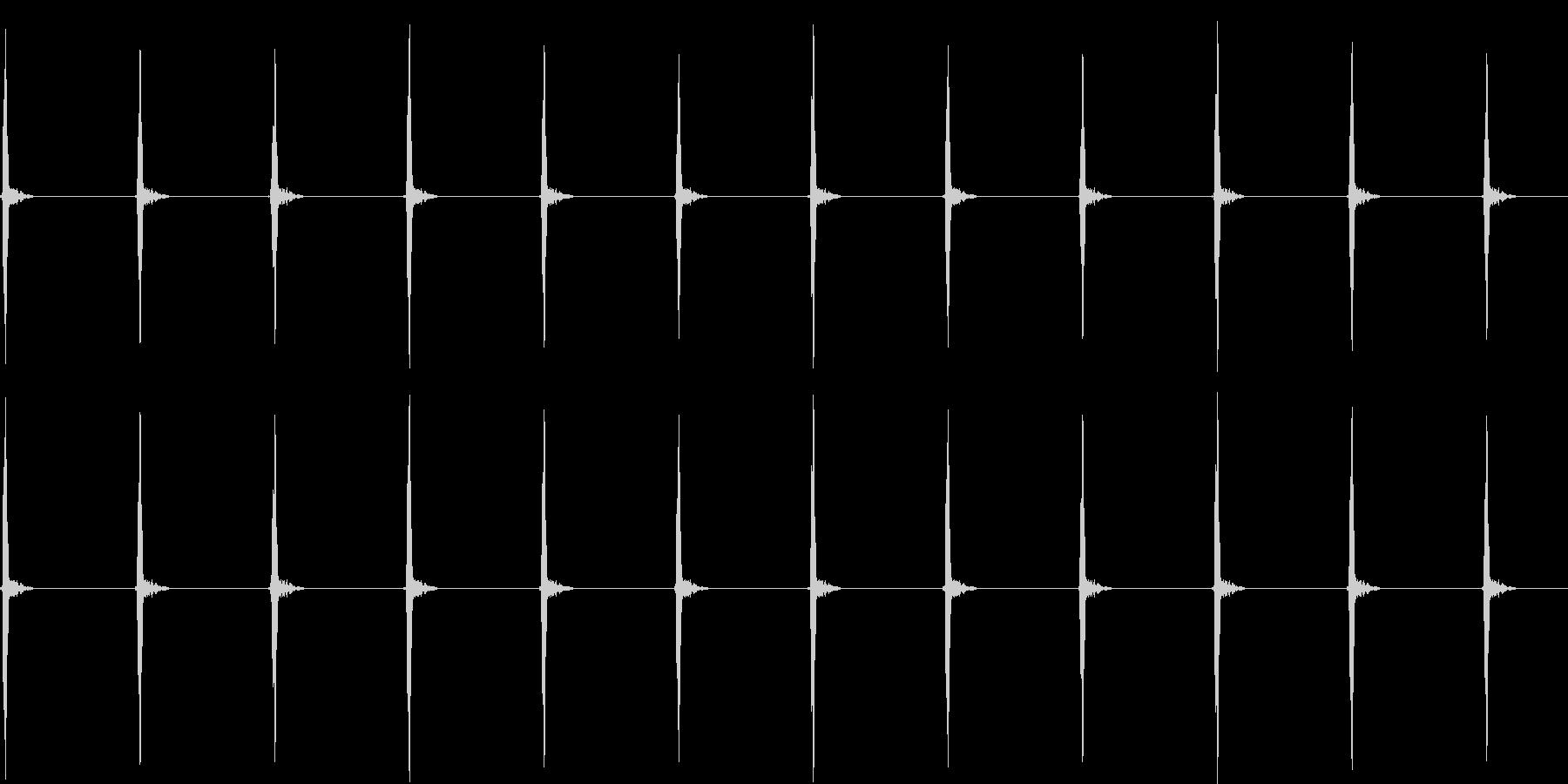 ハートモニター;乳児/胎児2; E...の未再生の波形